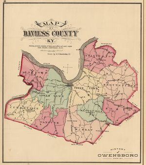 1876 Atlas of Daviess County